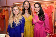 Michele França, Tamires Cunha e Jamila Lima