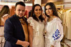 Roberto Alves, Marília Lopes e Kátia Targyno