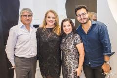 Carlos Guilherme, Luiziane Cavalcante, Cynthia Pereira e Vinícius Machado