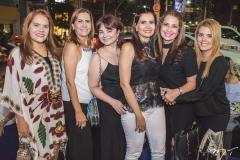 Cláudia Alexandre, Débora Moreira, Chris Leite, Lorena Pouchain, Márcia Andréa e Letícia Studart