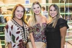 Cláudia Alexandre, Nathália Ponte e Roberta Fernandes