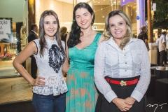 Daniele Carioca, Hissa Tavares e Ana Valéria Teixeira