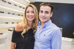 Daniele Holanda e Rodrigo Maia