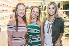 Denise Pinheiro, Révia Lima e Liliana Diniz
