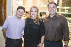 Eugênio Giffoni, Luiziane Cavalcante e Rodrigo Vicentini