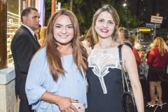Gigi Passos e Adriana Arrais