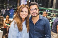 Gigi Passos e Vinícius Machado