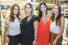 Juliana Lima, Roberta Fernandes, Paloma Fiuza e Lara Linhares