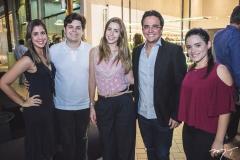 Juliana Ribeiro, Bob Santos, Raquel Fernandes, Panta Neto e Carol Palácio