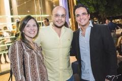 Larissa Barros, Franzé Barros e Panta Neto