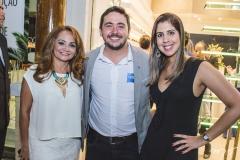 Laura Coutinho, Marcos Paulo e Juliana Ribeiro