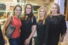 Lívia Villar, Márcia Andréa, Letícia Studart e Luiziane Cavalcante