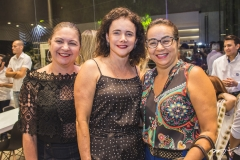 Lili Cialdini, Cristiane Araújo e Adriana Cardoso