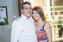 Luiz Eduardo e Suzane Farias