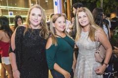 Luiziane Cavalcante, Beth Pinto e Cristiane Lima