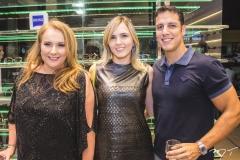 Luiziane Cavalcante, Elizabeth Marques e Gustavo Vilas Boas
