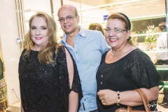 Luiziane Cavalcante, Wagner Fernandes e Nora Fernandes
