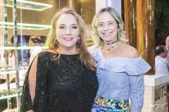 Luiziane Cavalcante e Andréa Fialho