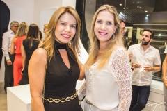 Maira Silva e Marjorie Marshall