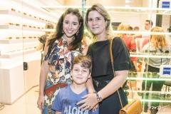 Marcella Cidrão, João Paulo Cidrão e Camille Cidrão