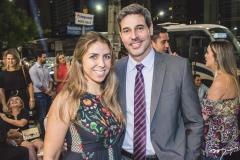 Nabirra Acário e André Santos