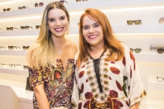 Nathália Ponte e Cláudia Alexandre
