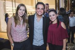 Raquel Fernandes, Panta Neto e Carol Palácio