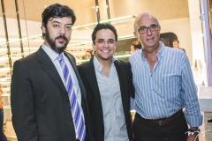 Ricardo Tavano, Panta Neto e João Alberto