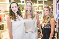 Roberta Nogueira, Célia Magalhães e Bruna Magalhães
