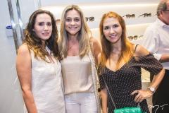 Roberta Nogueira, Célia Magalhães e Wayne Moreira