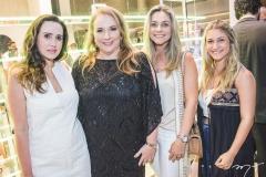 Roberta Nogueira, Luiziane Cavalcante, Célia Magalhães e Bruna Magalhães