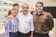 Sonita Juaçaba, César Juaçaba e Rodrigo Vicentini