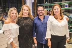 Tânia Vieira, Luiziane Cavalcante, João Jorge Vieira e Germana Viana