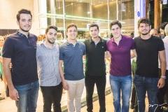 Wesley Aguiar, Mateus Bezerra, Igor Fernandes, Iago Moreira, Marcelo Dias Branco e Michel Ferraz