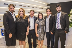 William Kerne, Luiziane Cavalcante, Marcelo Frias, Cynthia Pereira, Panta Neto e Ricardo Tavano