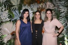 Camille Capibaribe, Ticiana Machado e Riana Aguiar