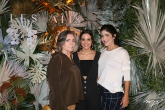 Cira Araripe, Ticiana Machado e Melissa Araripe