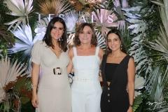 Deborah Bandeira, Inês Almeida e Ticiana Machado
