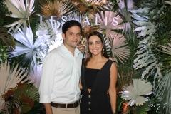 Guilherme Araripe e Ticiana Machado