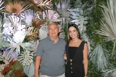 Iselmo dos Santos e Ticiana Machado