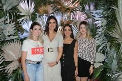 Lia Bastos, Deborah Bandeira, Ticiana Machado e Carolina Ciarlini