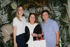 Luciana, Meiriane e Rafael Machado