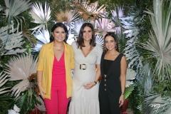 Shara Lima, Deborah Bandeira e Ticiana Machado