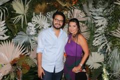 Vinicius Machado e Márcia Travessoni