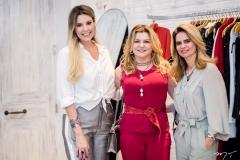 Carol Mello, Silvana Guimarães e Germana Cavalcante