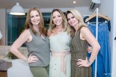 Márcia Andréa, Ana Paula Daud e Germana Cavalcante