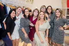 Raiane Freitas, Izadora Granjeiro, Ana Paula Daud, Suzana Mendonça e Ariadna Menezes