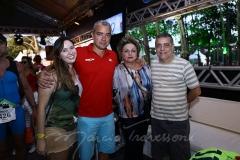 Amanda e Kaul Aragão, Alessandra Aragão e Laete Fernandes