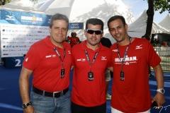 Carlos Galvão, Erick Vasconcelos e Alexandre Freire