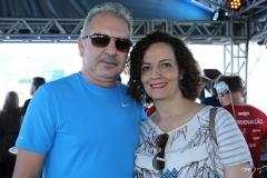 Erivan Maciel e Patrícia Jereissati